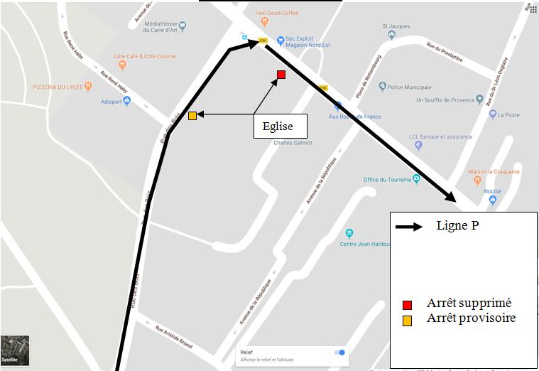 Montgeron - Travaux Avenue de la République (Ligne P direction Montgeron Gare)