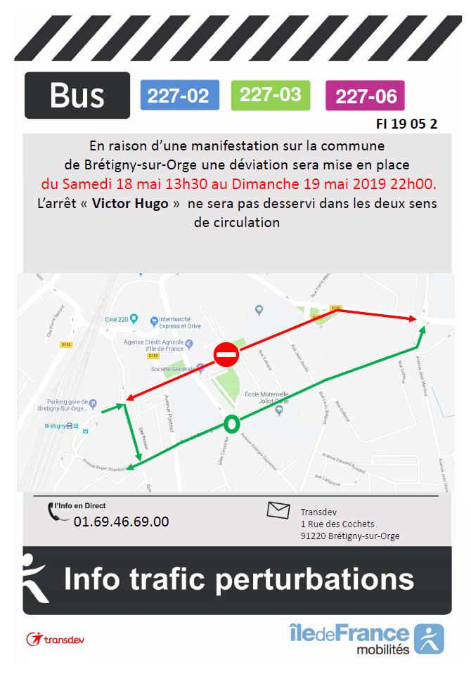 Manifestation Brétigny-sur-Orge