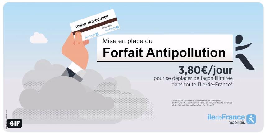Titre anti-pollution - 23, 24 et 25 juillet