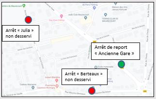 MAURECOURT - Ligne 11 - Déviation