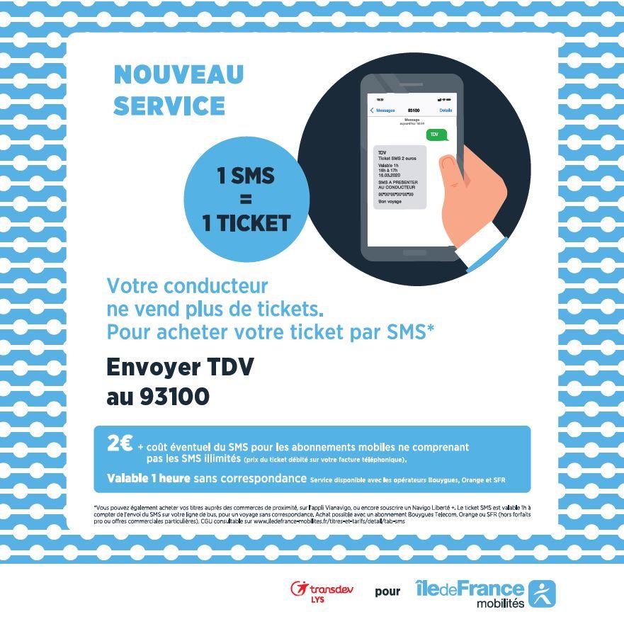 Information Ticket SMS