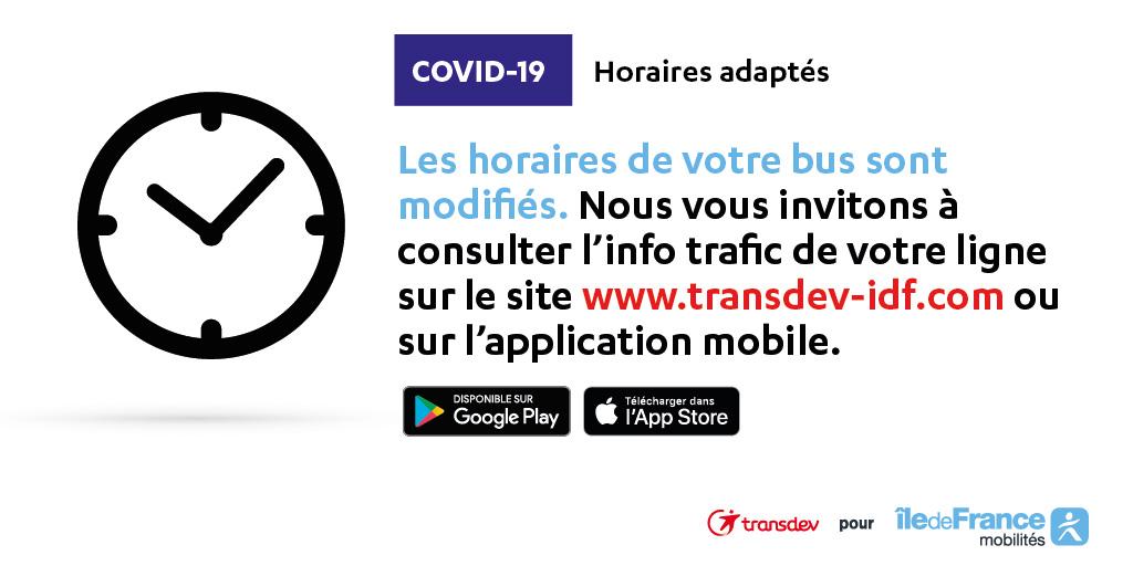 Information trafic Transdev Ile-de-France NEMOURS