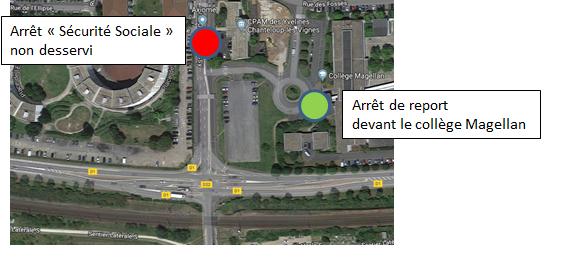 CHANTELOUP - Ligne 25 - Déviation