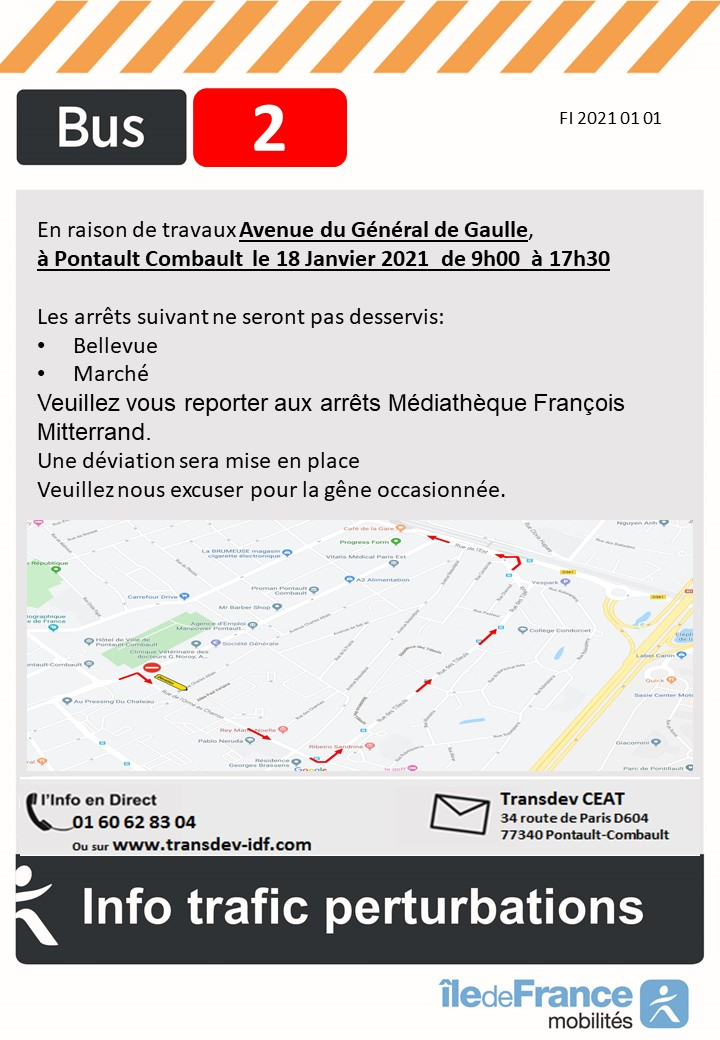 Travaux Pontault-Combault