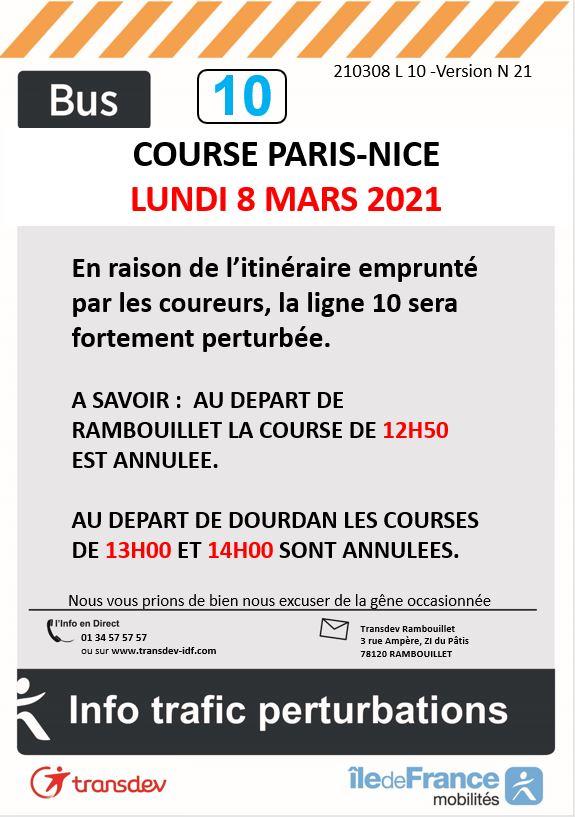 Transdev Rambouillet Paris-Nice Ligne 10
