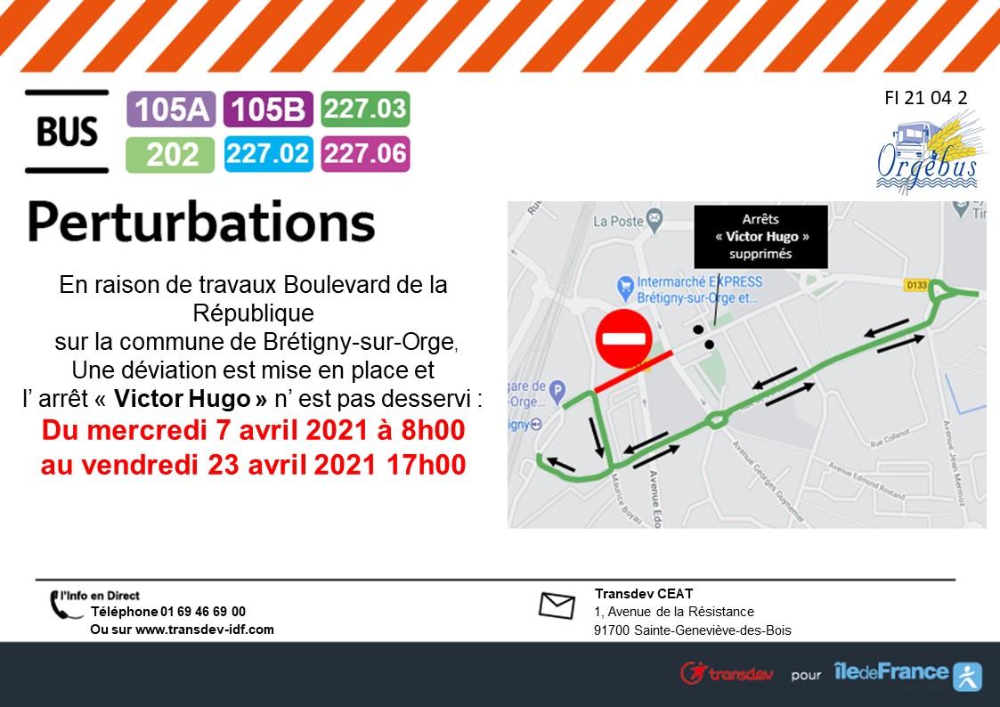 Travaux Brétigny-sur-Orge