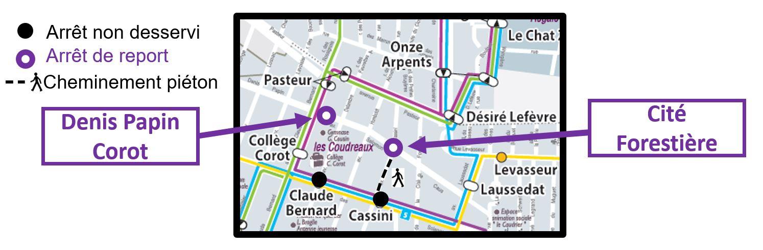 Transdev STBC - Ligne 1, 3, 5, 7s, et 9s