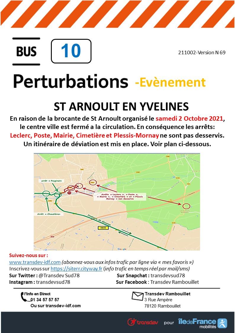 Transdev Rambouillet Perturbation