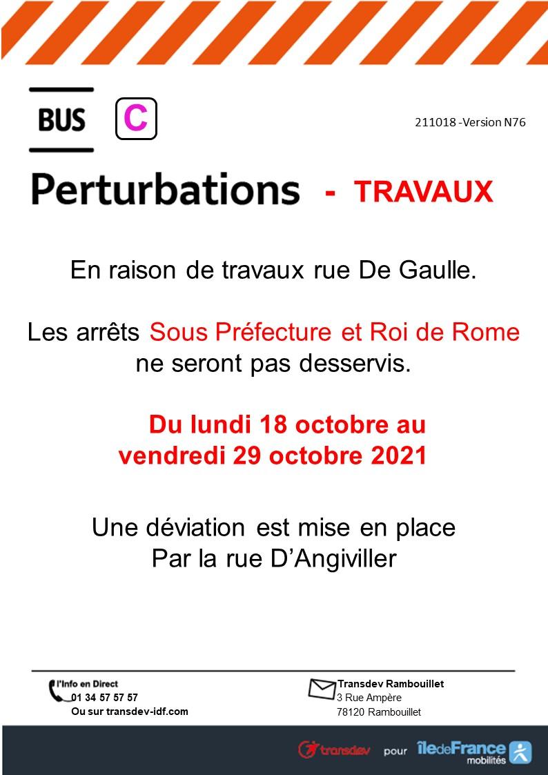 Transdev Rambouillet Réseau Urbain Ligne C
