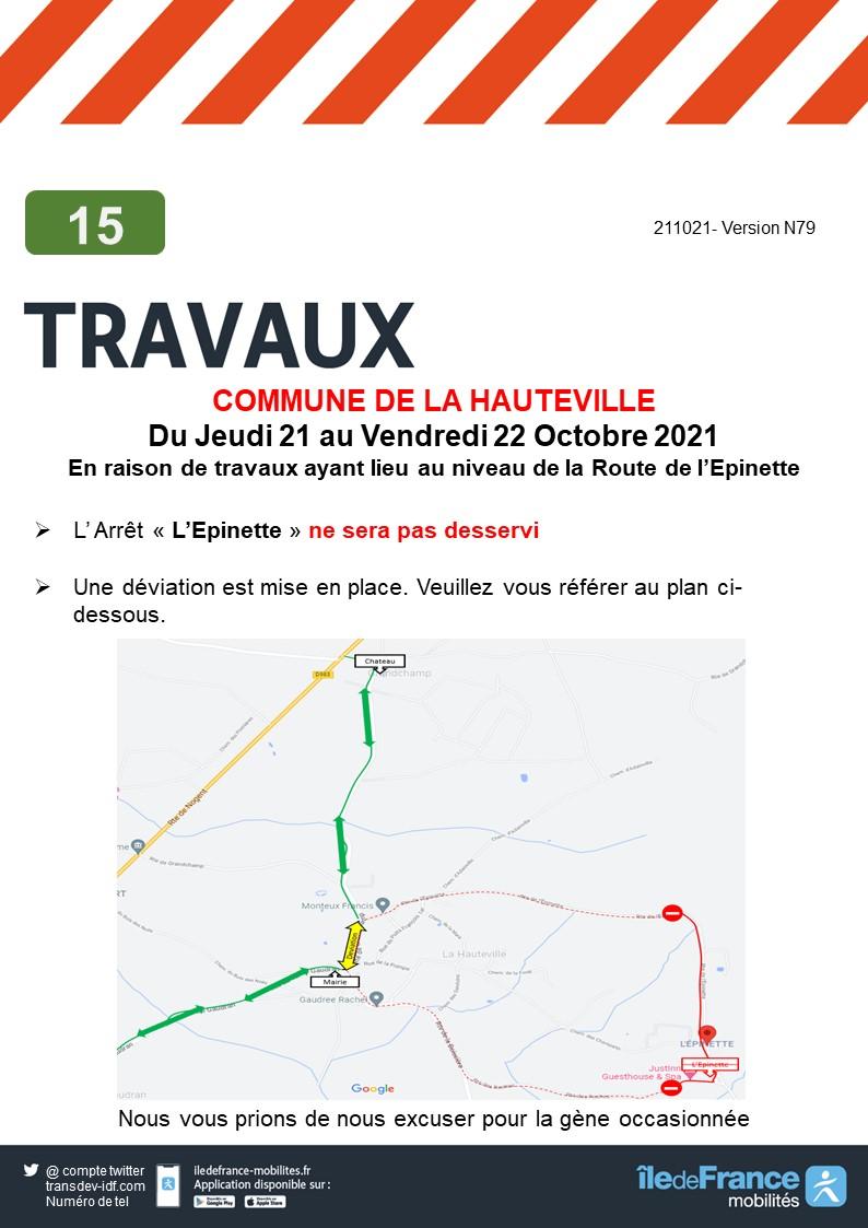 Transdev Rambouillet Réseau Interurbain Ligne 15